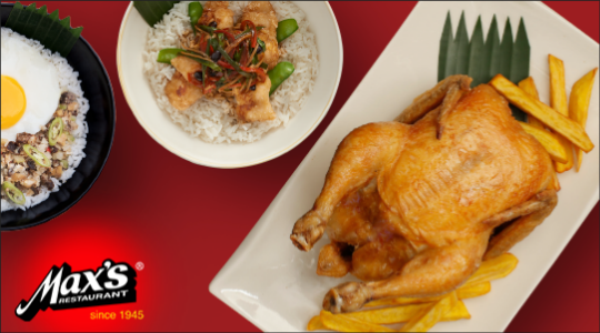 Max's Restaurant - Pasig Downtown Delivery | GrabFood