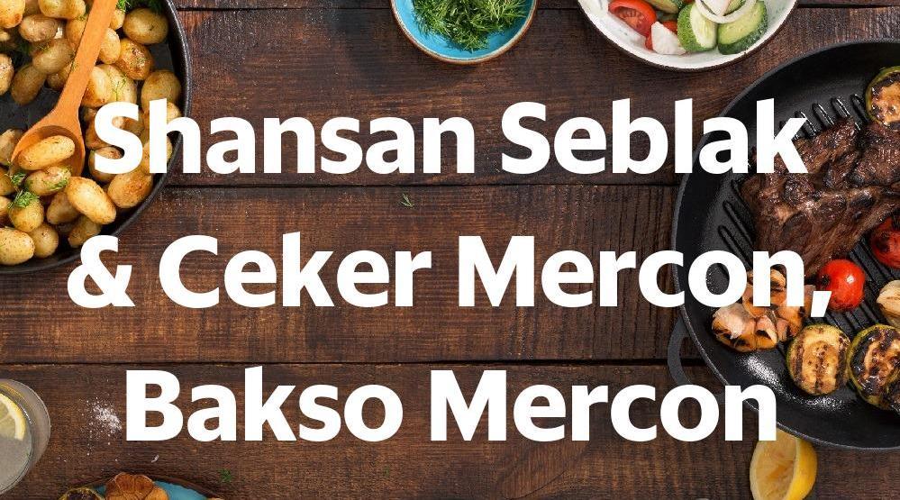 Shansan Seblak Ceker Mercon Bakso Mercon Parung Dengdek