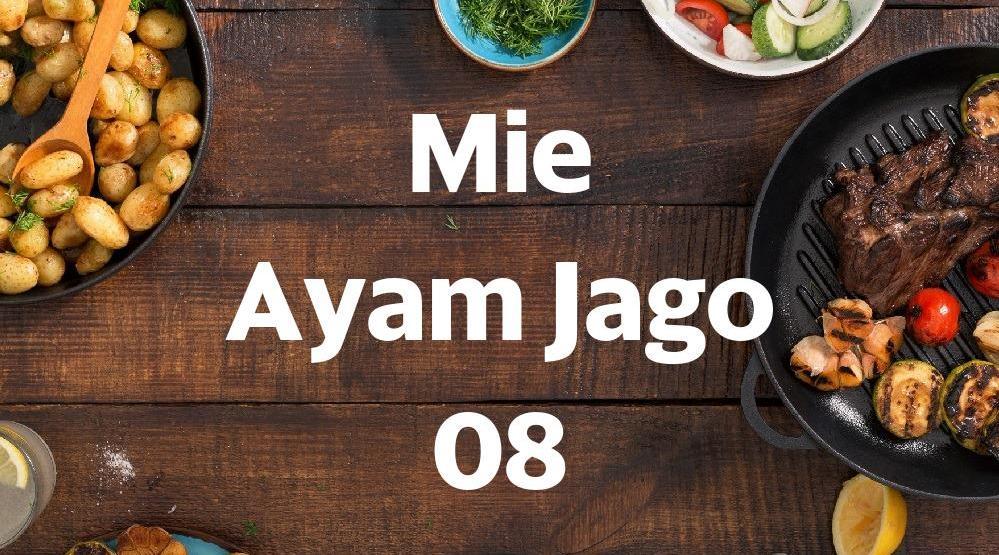 Mie Ayam Jago 08 Lontar Makanan Delivery Menu Grabfood Indonesia