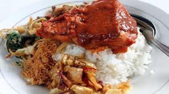 Warung Makan Sederhana Thilas Bama Kota Bangun Makanan