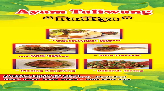 Ayam Taliwang Raditya - Kebayoran Delivery   GrabFood Indonesia