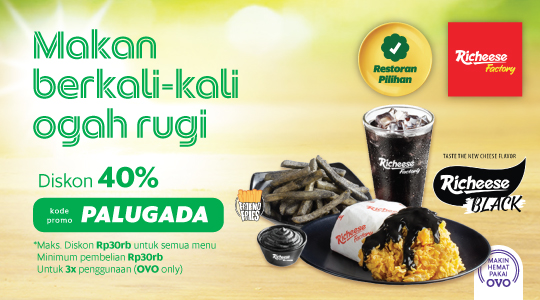 Richeese Factory Gajah Mada Md Delivery Grabfood Indonesia