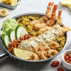Fish Streat Aeon Cakung Makanan Delivery Menu Grabfood Id