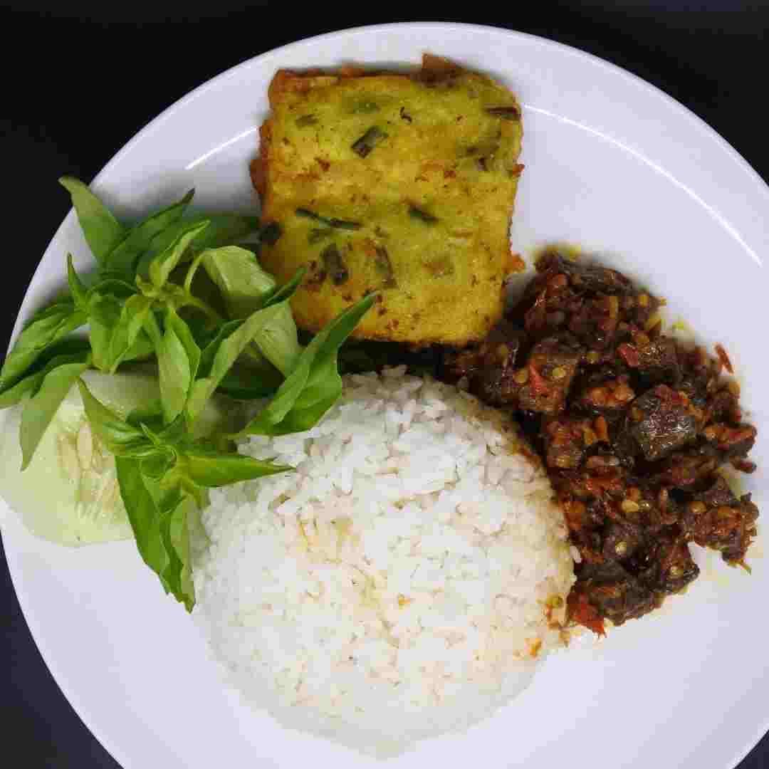 Nasi Paru di Malang