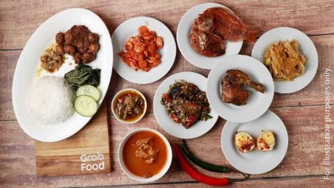 Masakan Padang Palapa Tukad Barito Makanan Delivery Menu