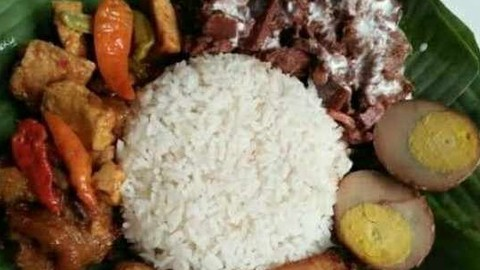Gudeg Jogja Ayu Karet Kuningan Makanan Delivery Menu Grabfood Id