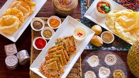 Prana Indian Restaurant Bali Seminyak Makanan Delivery Menu
