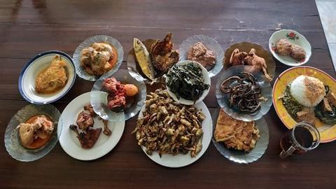 Nasi Padang Pesisir Raya 2 Rajapolah Makanan Delivery Menu