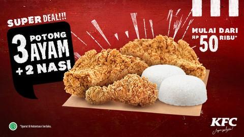 KFC BOX - SUNCITY MADIUN - Makanan Delivery Menu   GrabFood ID