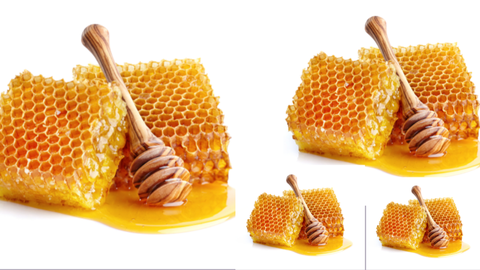 Sarang Madu Honeycomb Dan Cemilan Snack Rambut Nenek Batu Ampar