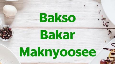Bakso Bakar Maknyoosee Maguwoharjo Makanan Delivery Menu