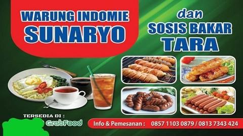 warung indomie sunaryo sosis bakar tara pekojan makanan delivery menu grabfood id warung indomie sunaryo sosis bakar