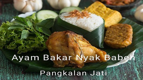 Ayam Bakar Nyak Babeh Pangkalan Jati Makanan Delivery Menu Grabfood Id