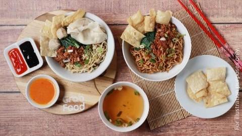 Mie Ayam Laksana Bakso Wonogiri Mas Mul - Kartini - Makanan Delivery Menu |  GrabFood ID