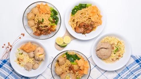 Warung Bakso Laris Manis Perintis Kemerdekaan Makanan Delivery