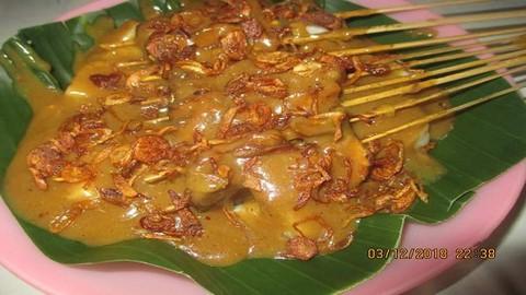 Sate Padang Uda Bagindo Cililitan Food Delivery Menu